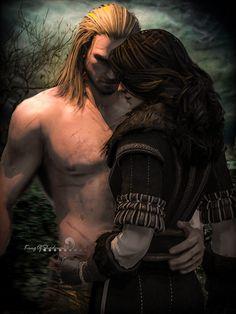 Geralt and Yennefer (Witcher 3) by kingofshadows26 on DeviantArt