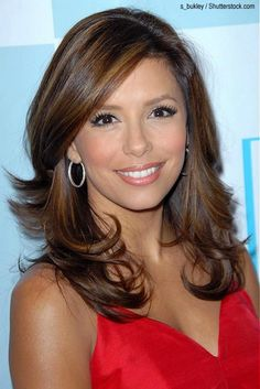 Eva Longoria Hairstyles. Cut and Color