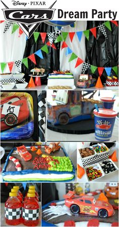 Ultimate Cars-themed party! #DreamParty #shop
