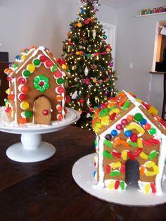 Easy Gingerbread houses
