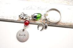Glücksketten & -anhänger - ✼ Luck ✼ Schlüsselanhänger - ein Designerstück von LiAnn-Versand bei DaWanda