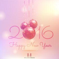 Milena Moda vous souhaite une très belle et heureuse année 2016 ! Merci pour votre fidélité.  #bonneannée2016 #milenamoda