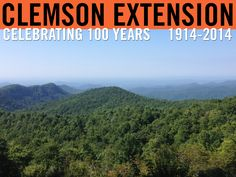 View from Sassafras Mountain. Photo by Carrie Baxley. #ClemsonExt100