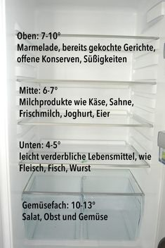Den Kühlschrank richtig einräumen Give the fridge right – that's the way it works! Cleaning Companies, Household Cleaning Tips, Cleaning Day, House Cleaning Tips, Green Cleaning, Cleaning Hacks, Home Hacks, Diy Hacks, Genius Ideas