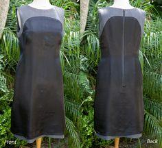 pattern ~ scissors ~ cloth: ~tricks of the trade: a shift dress lining pattern