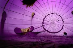 beautiful purple hot air balloons - Google Search