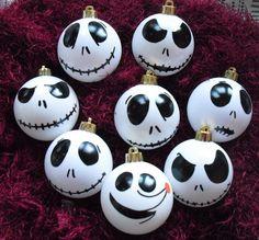 #Nightmare #Before #Christmas #Baubles #Jack #Skellington #Zero #Baubles