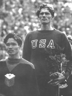 Miguel S. White (left) was a Fil-Am Bicolano who won the bronze at the 1936 Berlin Olympics in the 400 metre hurdles, losing the silver by a split-second. He became a lieutenant in the 52nd Infantry Regiment of the Philippine Army and was Missing in Action in WWII. #kasaysayan