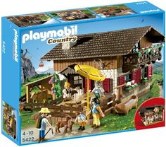 Playmobil I am not TOO old surely. Playmobil goes all Heidi with the country range, and it´s oh awesome.