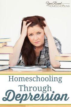 homeschooling, depression, homeschool