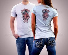 Gangsters T-Shirt by Romaa Roma, via Behance
