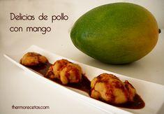 Delicias de pollo y mango