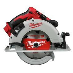 """Milwaukee 18v Bl 7-1/4"""" Circular Saw (bare Tool) 2631-80 Certified Refurbished Circular Saw For Sale, Circular Saw Reviews, Best Circular Saw, Cordless Hammer Drill, Cordless Tools, Milwaukee Tools, Milwaukee M18, Steel Fence Panels, Table Saw"""