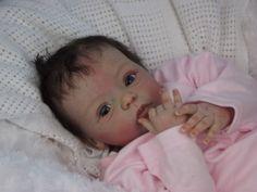 (Alexandra's Babies) REBORN BABY GIRL DOLL LIVIA GUDRUN LEGLER SOLD OUT LTD ED