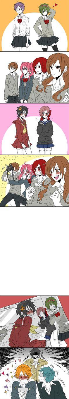 Hori-san to Miyamura-kun, Ayasaki Remi, Yanagi Akane, Miyamura Izumi, Sengoku Kakeru