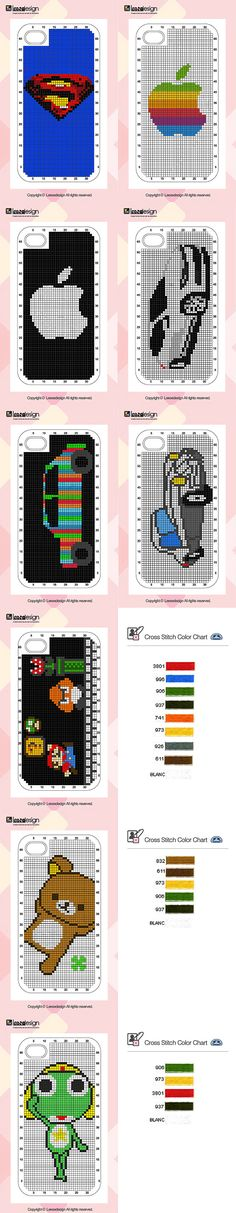 How To: Cross-Stitch Your Own iPhone Case