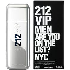 Veja nosso novo produto Perfume 212 VIP Men EDT Masculino 100ml Carolina Herrera! Se gostar, pode nos ajudar pinando-o em algum de seus painéis :)