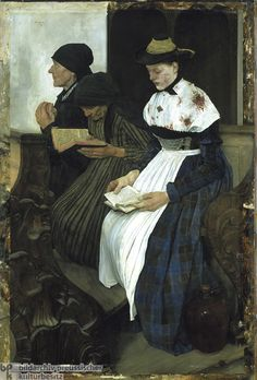Laibl: Drei Frauen in der Kirche http://www.germanhistorydocs.ghi-dc.org/images/30888-p1.jpg