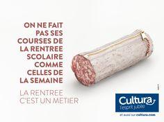 """""""La rentrée, c'est un métier"""", par St John's pour Cultura. 2014. 3."""