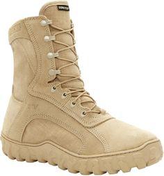 101-1 Rocky Men's S2V Tactical Boots - Tan