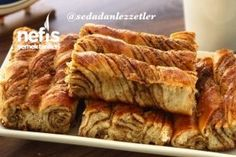 Turkish Recipes, Banana Bread, French Toast, Bacon, Food And Drink, Breakfast, Sweet, Desserts, Patterns
