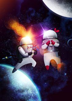 Intergalactic love...
