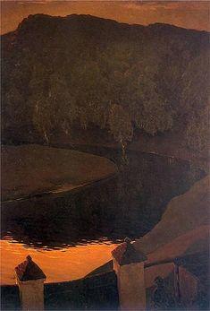 Wieczór, Wilejka, 1900 - Ferdynand Ruszczyc