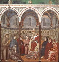 17. St Francis Preaching before Honorius III.
