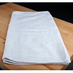 $4.99/dz 15 1/2 x 18 inch Ribbed Terry Bar Towel 18 oz. 12 / Pack