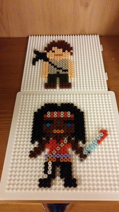 Walking Dead perler beads by susztdaniel on deviantART