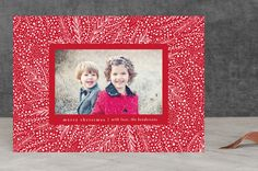 """fairylights"" - Classical, Elegant Holiday Photo Cards in Red by Phrosne Ras. Happy Holidays, Christmas Holidays, Christmas Cards, Merry Christmas, Holiday Photo Cards, Merry And Bright, Your Cards, Joy, Elegant"
