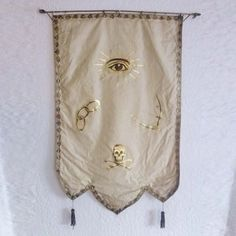 Odd Fellows Silk Banner, $462, now featured on Fab.