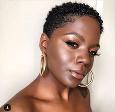 If you have recently done the BIG CHOP or you just like to keep your afro short you are probably. Tapered Natural Hair, Pelo Natural, Cantu Coconut Curling Cream, Teeny Weeny Afro, Curly Hair Styles, Natural Hair Styles, Big Chop, Natural Hair Inspiration, Hair Journey