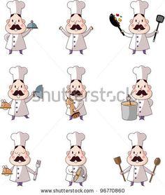 cartoon chef icon by notkoo, via Shutterstock
