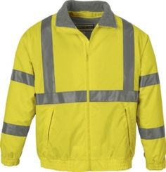 Promotional Products Ideas That Work: MEN'S INSULATED SAFETY JACKET. Get yours at www.luscangroup.com