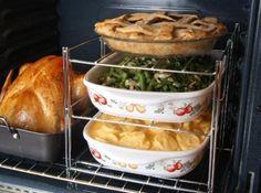 BEST HELPER EVER!!!  multi layer oven rack #LifeIsGood