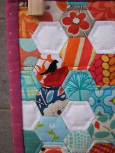 I am making one like this. It's my 'tv' quilt so I have something to do while watching tv..  If only I remembered to pull it out lol