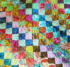 Tutorial: How to Quilt in Sections Without Sashing by Venus de Hilo