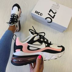 I think I'm in love with this pair of Nike Air Max 270 Regram Bridie McCarey . - I think I'm in love with this pair of Nike Air Max 270 Regram Bridie McCarey …- Source by - Moda Sneakers, Cute Sneakers, Sneakers Mode, Sneakers Fashion, Parisian Fashion, Bohemian Fashion, Fashion Clothes, Fashion Fashion, Retro Fashion
