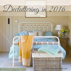 Decluttering in 2016: The Shoe Rack...