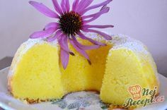 Supple Quark gugelhupf with pudding Cake Flavors, Sweet Cakes, Diy For Kids, Vanilla Cake, Pineapple, Good Food, Food And Drink, Sweets, Baking