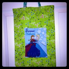 """Selling this """"Kids Library Tote"""" in my Poshmark closet! My username is: kadence_kloset. #shopmycloset #poshmark #fashion #shopping #style #forsale #Kids boutique  #Accessories"""