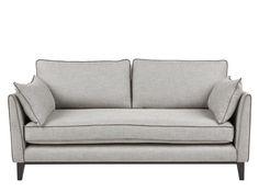 Content by Terence Conran Keston 3 Seater Sofa, Luna Silver Terence Conran, Small Sofa, Large Sofa, Sofas, Fabric Sofa, Contemporary Style, Home Furniture, Fabric Design, Love Seat