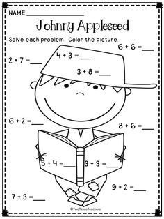 FREE Johnny Appleseed Printables, Crafts & MORE
