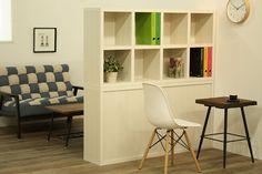 ロータイプ完成品収納棚・4列2段【書斎家具通販】 Bookcase, Shelves, Home Decor, Shelving, Decoration Home, Room Decor, Bookcases, Shelf, Book Racks