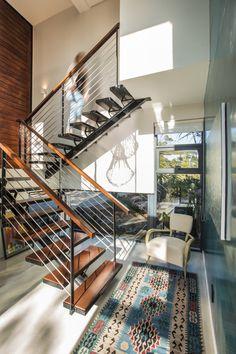 Casa moderna de dos pisos con planos | Construye Hogar