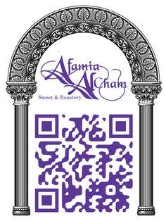 Afamia Al Cham Official QR Code