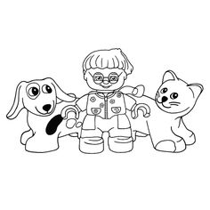 Leuk voor kids kleurplaat ~ Lego Duplo Lego Duplo, Lego Coloring Pages, Snoopy, Fictional Characters, Art, Lego Duplo Table, Art Background, Kunst, Fantasy Characters