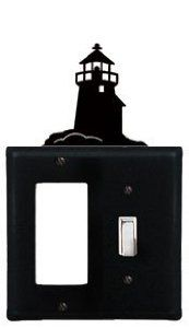 Lighthouse - Single GFI and Switch Cover by Village Wrought Iron. $14.21. Lighthouse - Single GFI and Switch CoverApprox. 4 5/8 In. W x 8 In. H Please allow 4 to 6 weeks for delivery. Switch Covers, Kitchen Lamps, Wrought Iron, Home Kitchens, Kids Room, Room Decor, Lighthouse, Lighting, Children