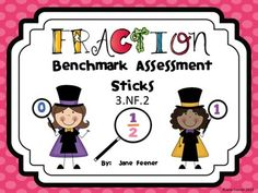 Here's a set of materials for making benchmark fraction sticks (0, 1/2, and 1). Hold up a fraction card and ask students to hold up the closest benchmark fraction.